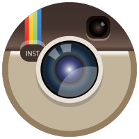 Instagram color icon Circle logo