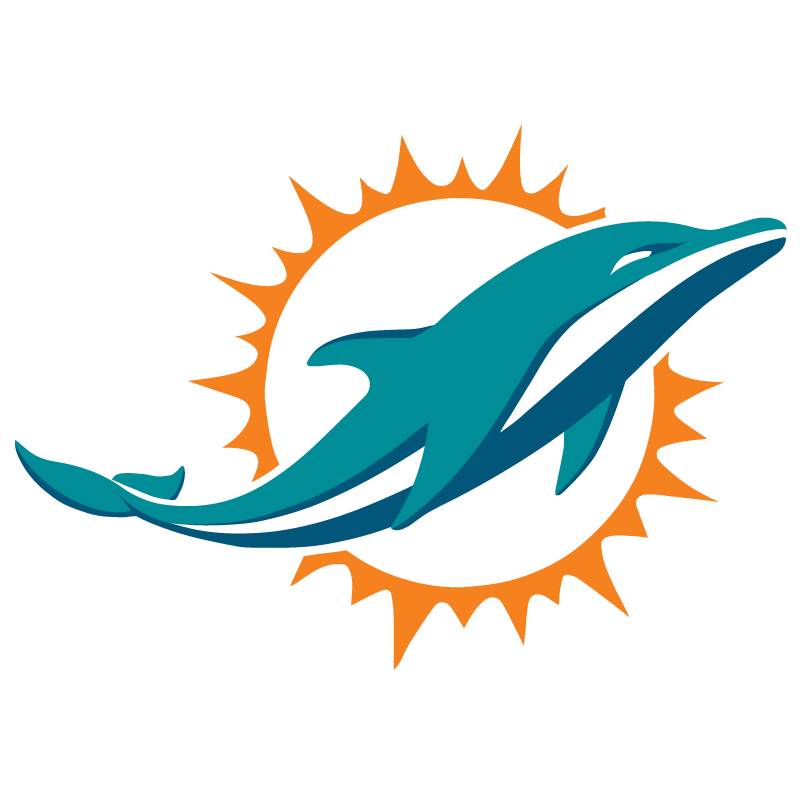 New Miami Dolphins logo vector logo