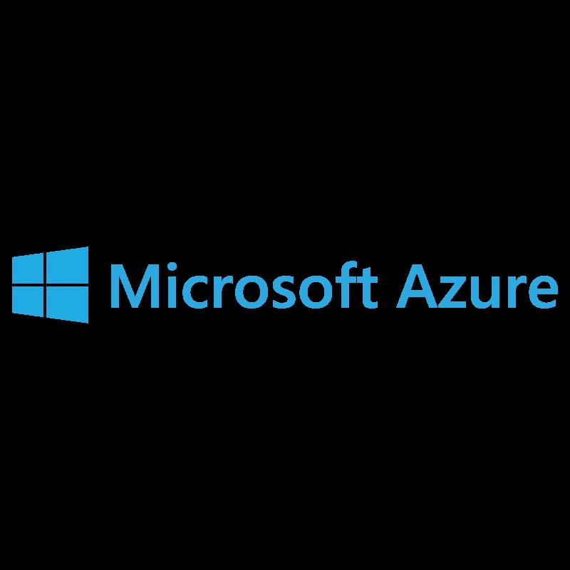 Microsoft Azure logo vector logo