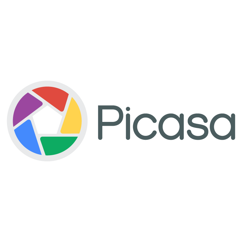 Picasa new logo vector logo