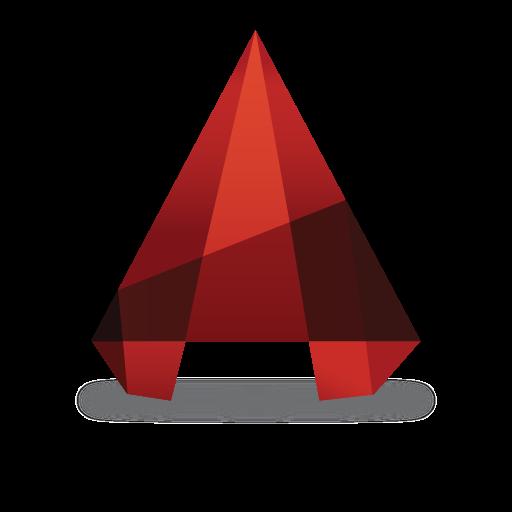 AutoCAD logo vector logo