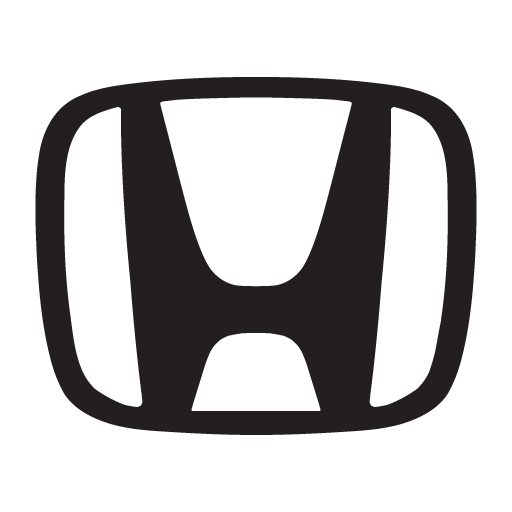 "Honda ""H"" Black logo vector logo"