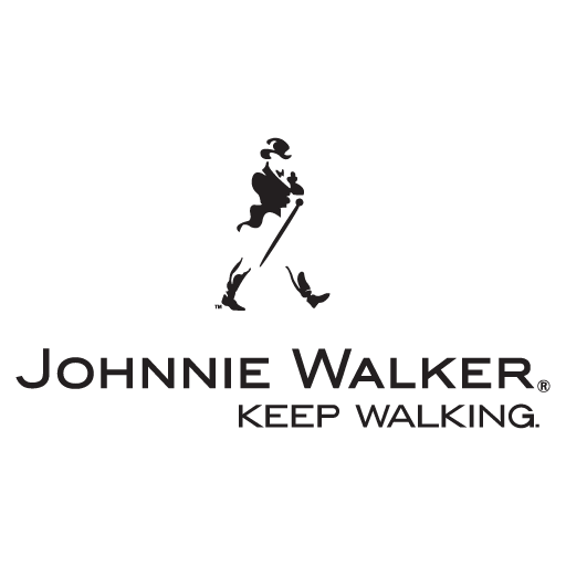 "Johnnie Walker ""Keep Walking"" logo vector logo"