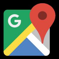 New Google Maps icon logo