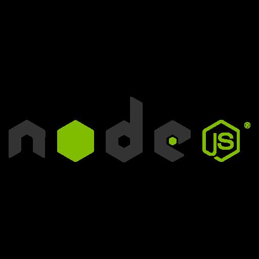 Node.js logo vector logo
