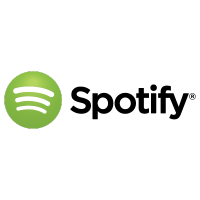 Spotify black logo
