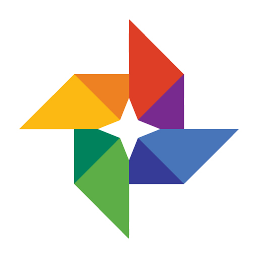 Google Photos logo vector logo